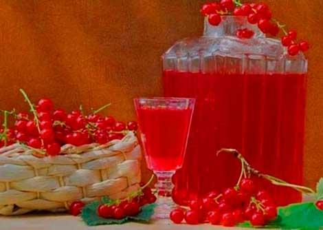 Натуральный сок из смородины