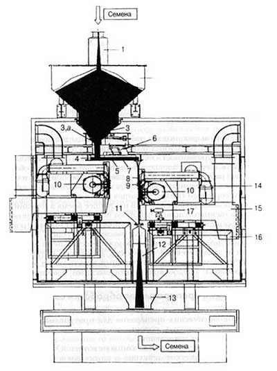 Обработка посевного материала низкоэнергетическими электронными лучами